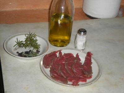 Tagliata manzo erbe aromatiche modo mio