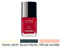 Smalti Chanel Make Up Collection Les Perles