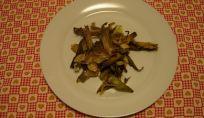 Mix di carciofi e porri al forno
