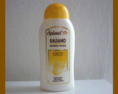 Balsamo Splend'Or al cocco