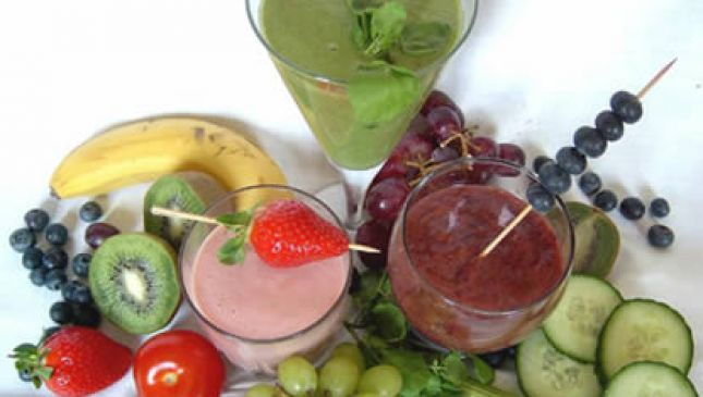 Centrifugati estivi, salute da bere!