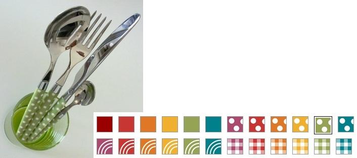 Posate Morinox linea Color