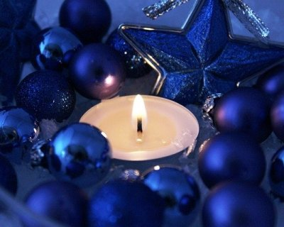 Decorazioni Albero Di Natale Blu : Decorazioni natalizie