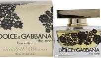 The One Lace edition by Dolce & Gabbana: il profumo si veste di pizzo nero