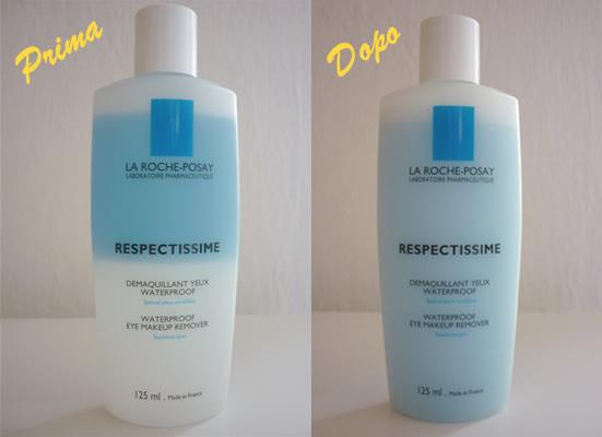 Struccante waterproof Respectissime La Roche Posay