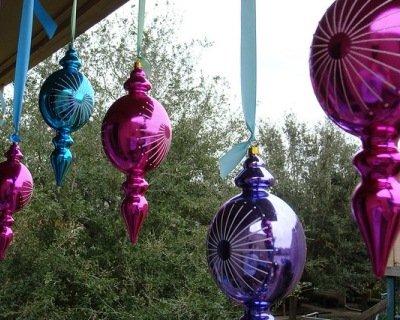 Decorazioni natalizie per il balcone e il terrazzo