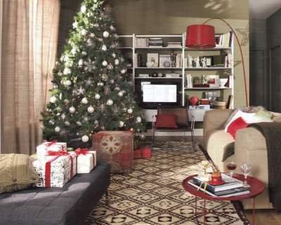 Complementi di arredo natalizi for Arredamento natalizio casa