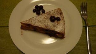 Torta Pere e Cioccolato di Santo Stefano a base di panettone