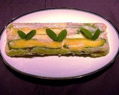 Sformato di verdure e formaggio