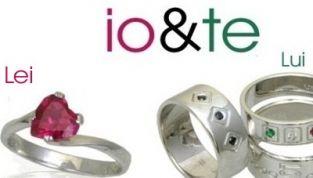 Gioielli San Valentino 2012: Io & Te by Flores per lei e per lui
