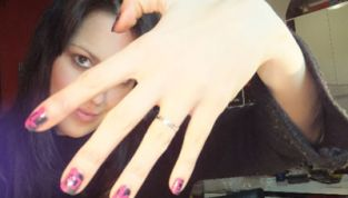Tutorial nail art san valentino bicolor love