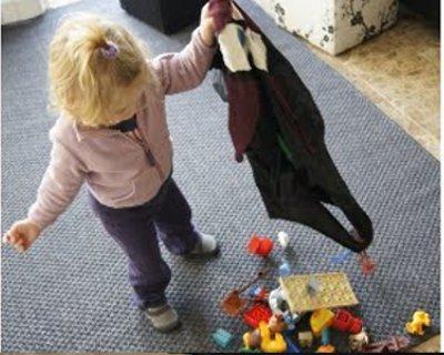 Tutorial borsa porta giochi fai da te