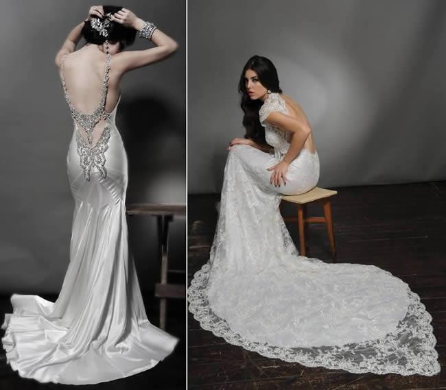 Stilista cinese abiti da sposa