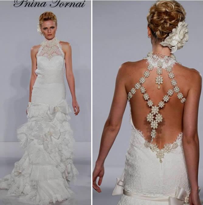 abbastanza Pnina Tornai abiti da sposa, collezione 2012 FP27