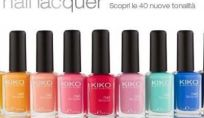 Nuovi smalti Kiko 2012 limited edition