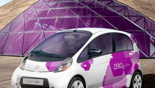 Citroen C-Zero, la piccola auto elettrica