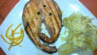 Salmone al ginepro light