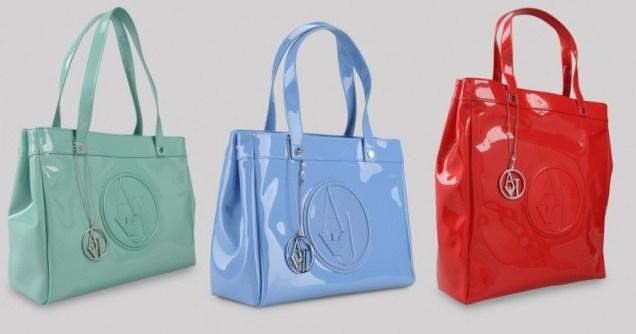749109c3af Borse in vernice Armani Jeans Primavera-Estate 2012: colori e prezzi