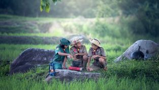Vacanze in campeggio coi bambini