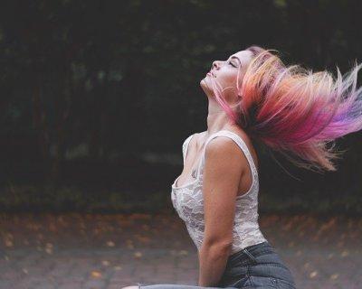 Extension colorate: trend color per capelli arcobaleno