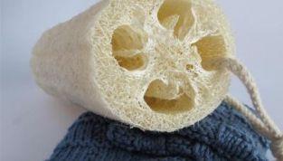 Luffa, spugna vegetale naturale