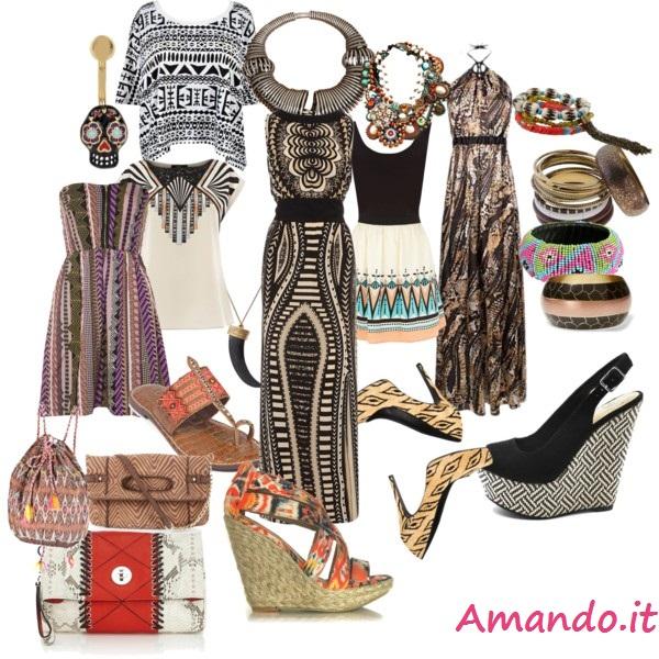 Moda etnica tribale