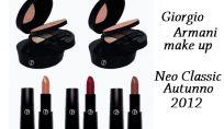 Make up Giorgio Armani Neo Classic autunno 2012