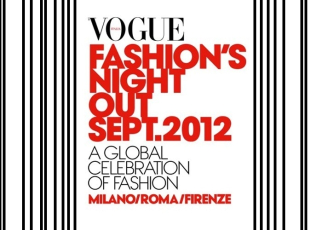 Vogue Fashion's Night Out 2012 date limited edition