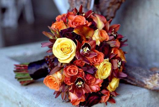 Bouquet Autunnali Sposa.Bouquet Da Sposa D Autunno Alcune Idee