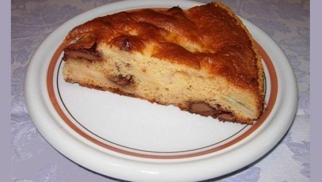 Torta rustica pere cioccolato