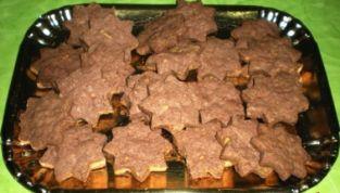 Biscotti cacao e pistacchi