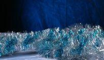 Tavola di Natale in azzurro