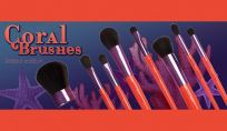 Coral Brushes Neve Cosmetics