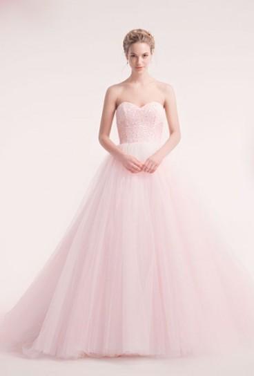 cc5b34ff6b30 Abito da sposa rosa... si o no  - Moda nozze - Forum Matrimonio.com