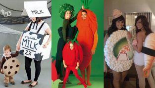 Costumi originali di Carnevale a tema cibo