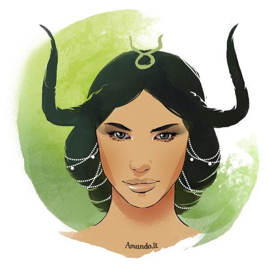 Risultati immagini per segni zodiacali donna toro