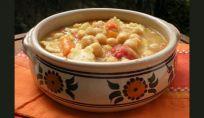 Tacconelli abruzzesi con zuppa di ceci, un piacevole piatto invernale
