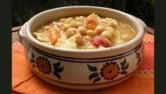 Tacconelli abruzzesi con zuppa di ceci