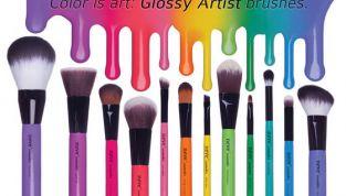 Pennelli Glossy Artist di Neve Cosmetics