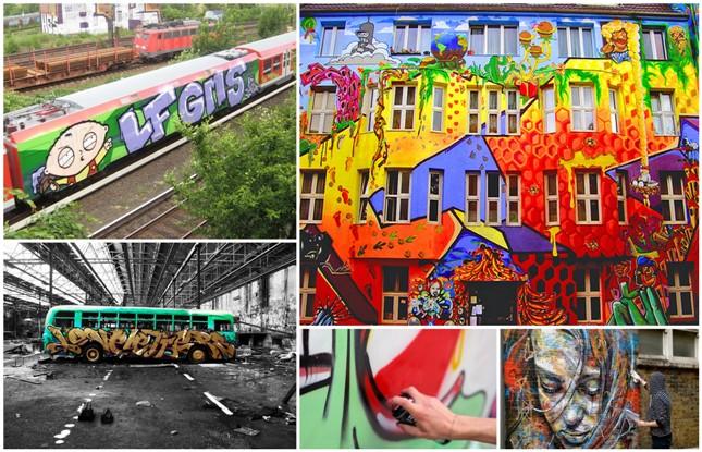 Graffiti la strada degli artisti for Immagini di murales e graffiti