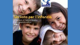Il Manifesto per l'Infanzia e l'Adolescenza di Telefono Azzurro