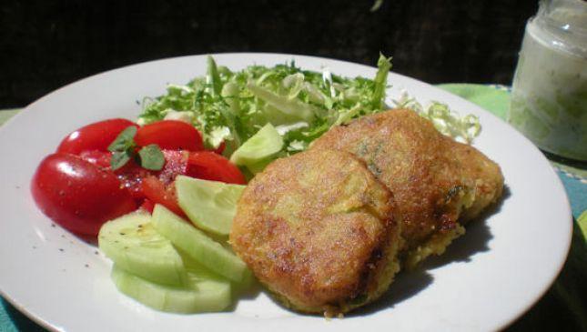 Kolokithokeftedes: golose polpette greche di zucchine e feta