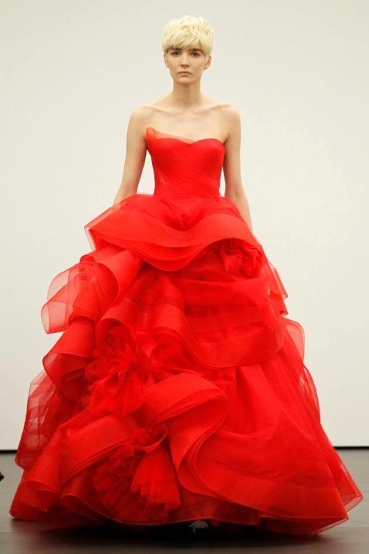 new concept c617f 24c3d Vera Wang abiti da sposa 2013