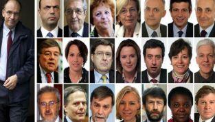 I 21 nomi del nuovo Governo