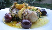 Tajine di pollo alle olive