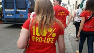 Roma marcia per la vita
