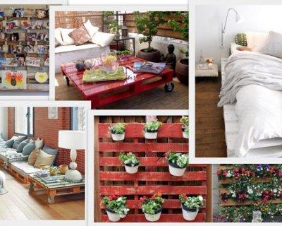 Arredamento di casa fai da te con bancali o pallet - Mobili con bancali di legno ...