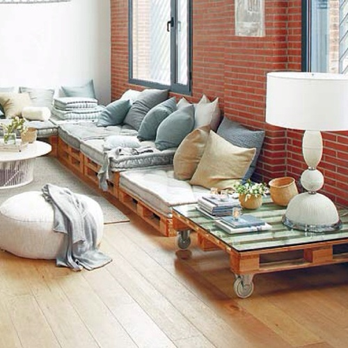 arredamento di casa fai da te con bancali o pallet