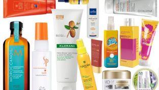 Prodotti solari per proteggere i capelli