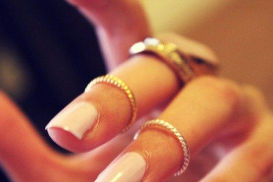 anelli metà dito online